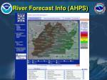 river forecast info ahps