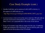 case study example cont63
