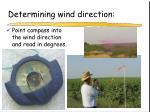 determining wind direction17