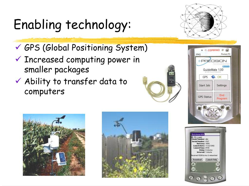 Enabling technology: