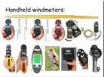 handheld windmeters