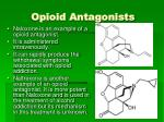opioid antagonists1
