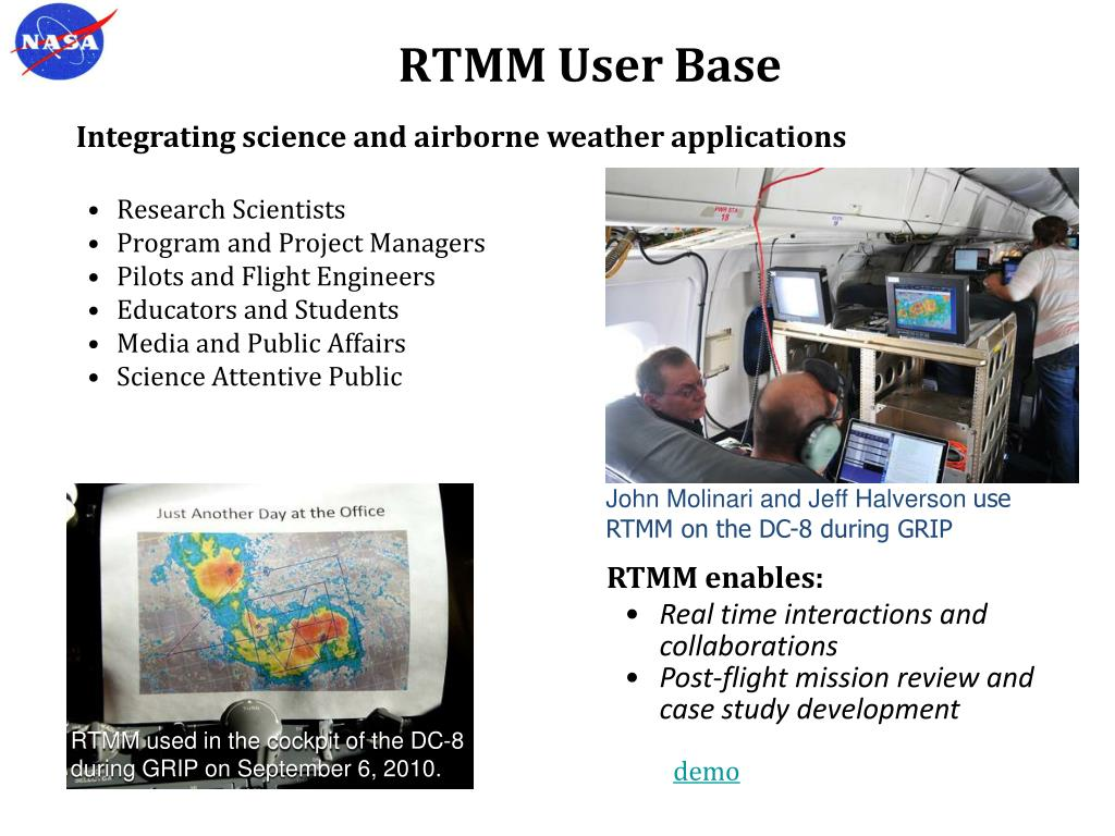RTMM User Base