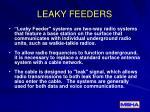 leaky feeders