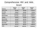 comprehensive hiv and aids grant