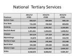 national tertiary services