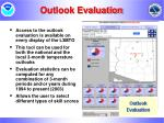 outlook evaluation