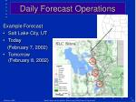 daily forecast operations2