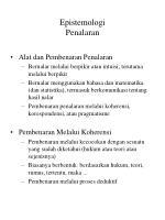 epistemologi penalaran1