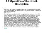 2 2 operation of the circuit description