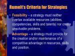 rumelt s criteria for strategies1