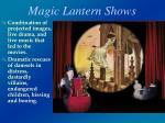 magic lantern shows