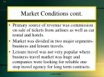 market conditions cont