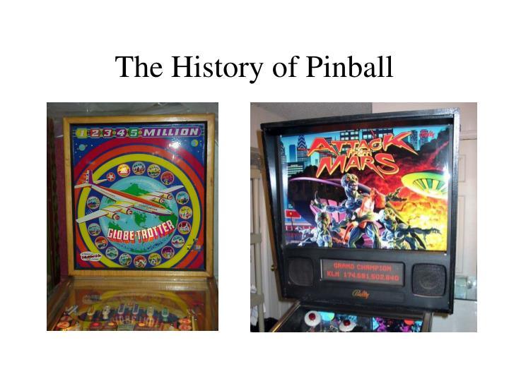 the history of pinball n.