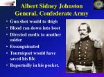 albert sidney johnston general confederate army