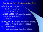 surviving early postoperative care