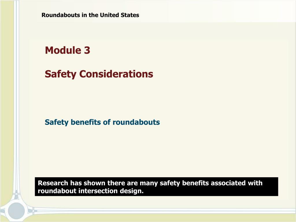 module 3 safety considerations l.