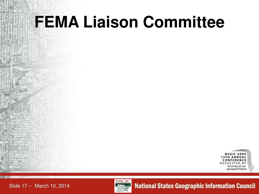 FEMA Liaison Committee