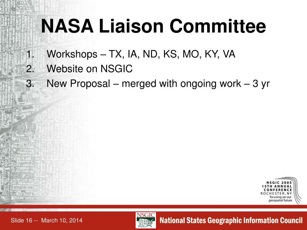 NASA Liaison Committee