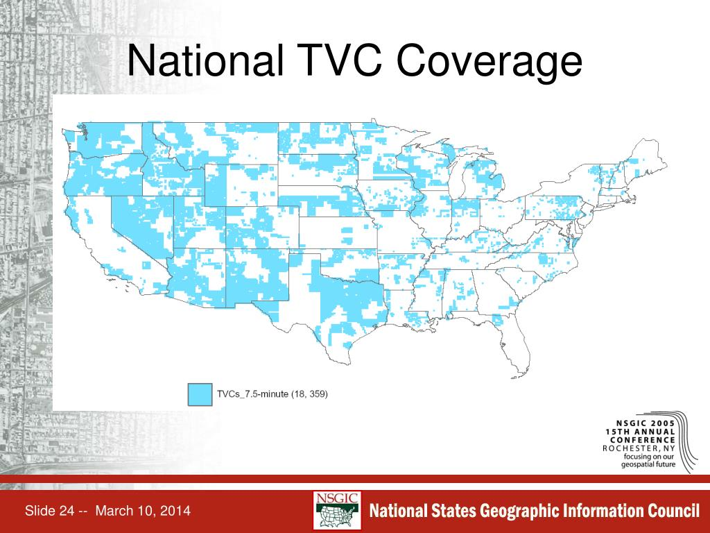 National TVC Coverage
