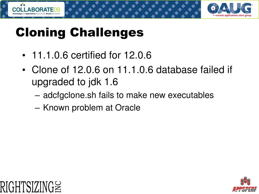 Cloning Challenges