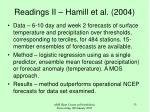 readings ii hamill et al 2004