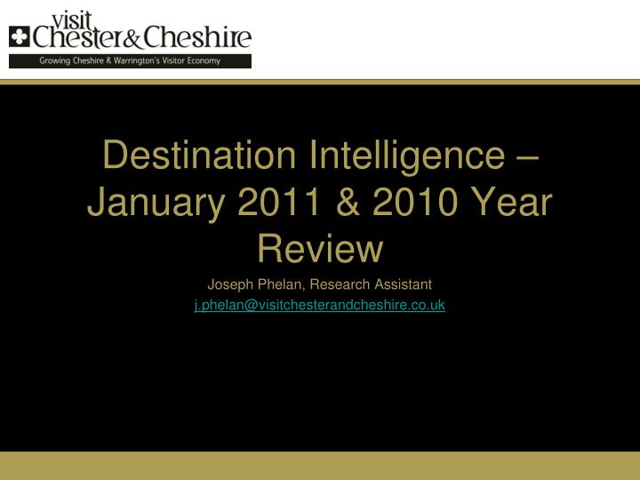Destination intelligence january 2011 2010 year review