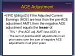 ace adjustment1
