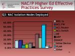 nac p higher ed effective practices survey6