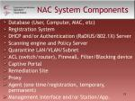 nac system components