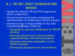 a 1 tb hiv joint coordinating bodies