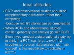 ideal attitudes