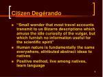 citizen deg r ando