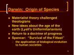 darwin origin of species