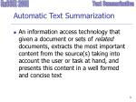 automatic text summarization1