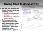 giving trees to ditransitives1