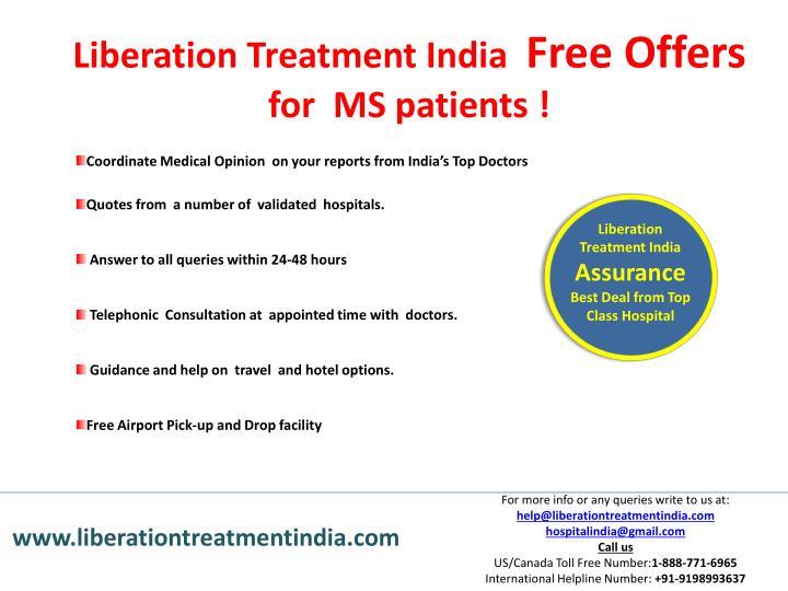 Liberation Treatment India