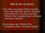 bilal ibn al zubayr
