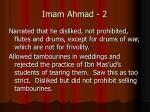 imam ahmad 2