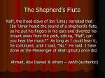 the shepherd s flute