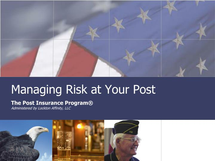 managing risk at your post n.
