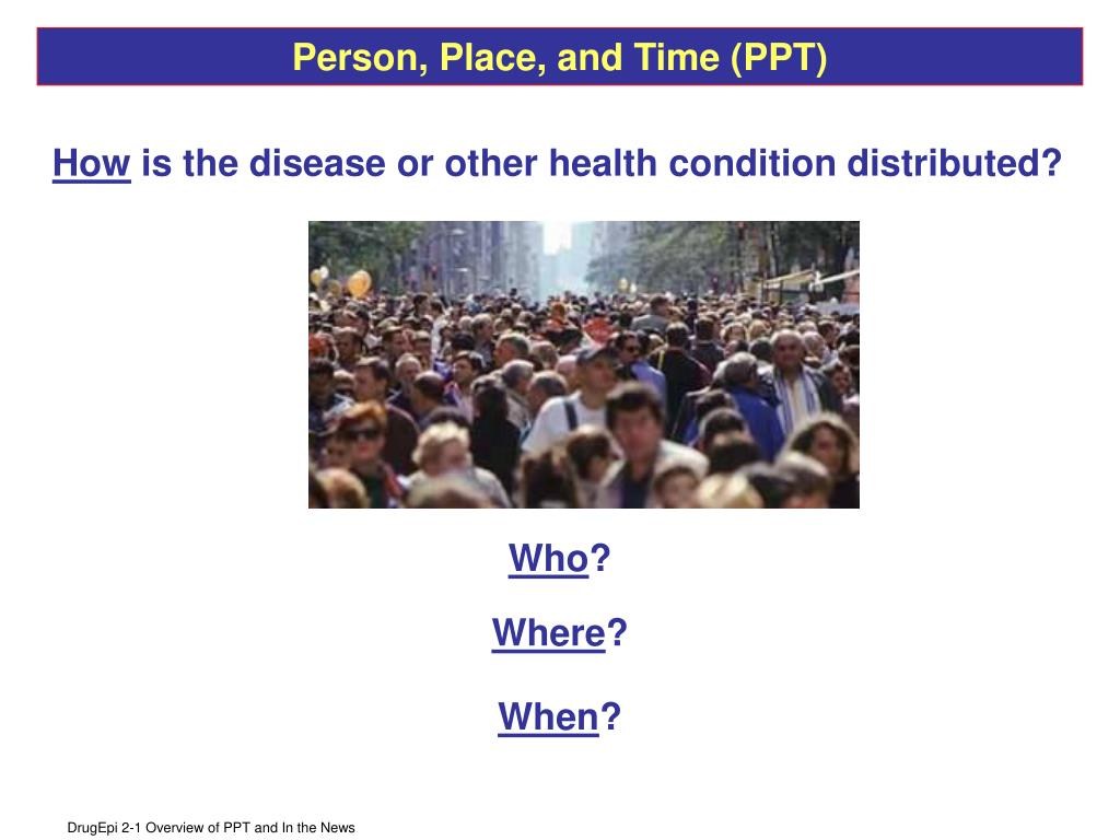 Person, Place, and Time (PPT)
