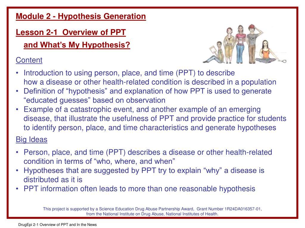 Module 2 - Hypothesis Generation