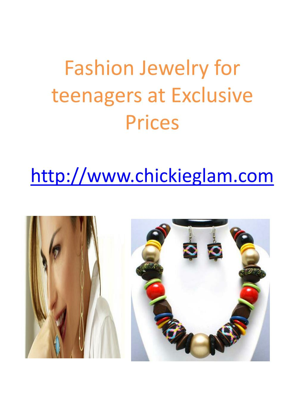 fashion jewelry for teenagers at exclusive prices http www chickieglam com l.