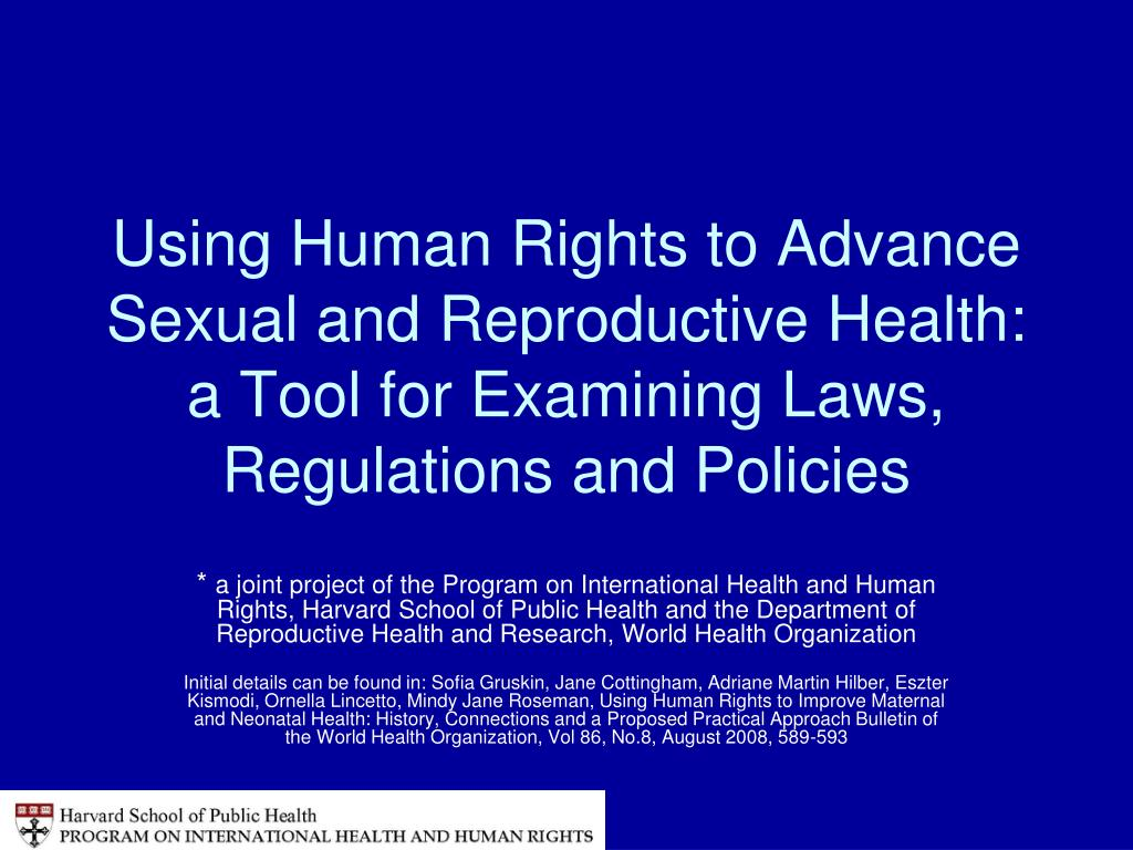 Using Human Rights to Advance