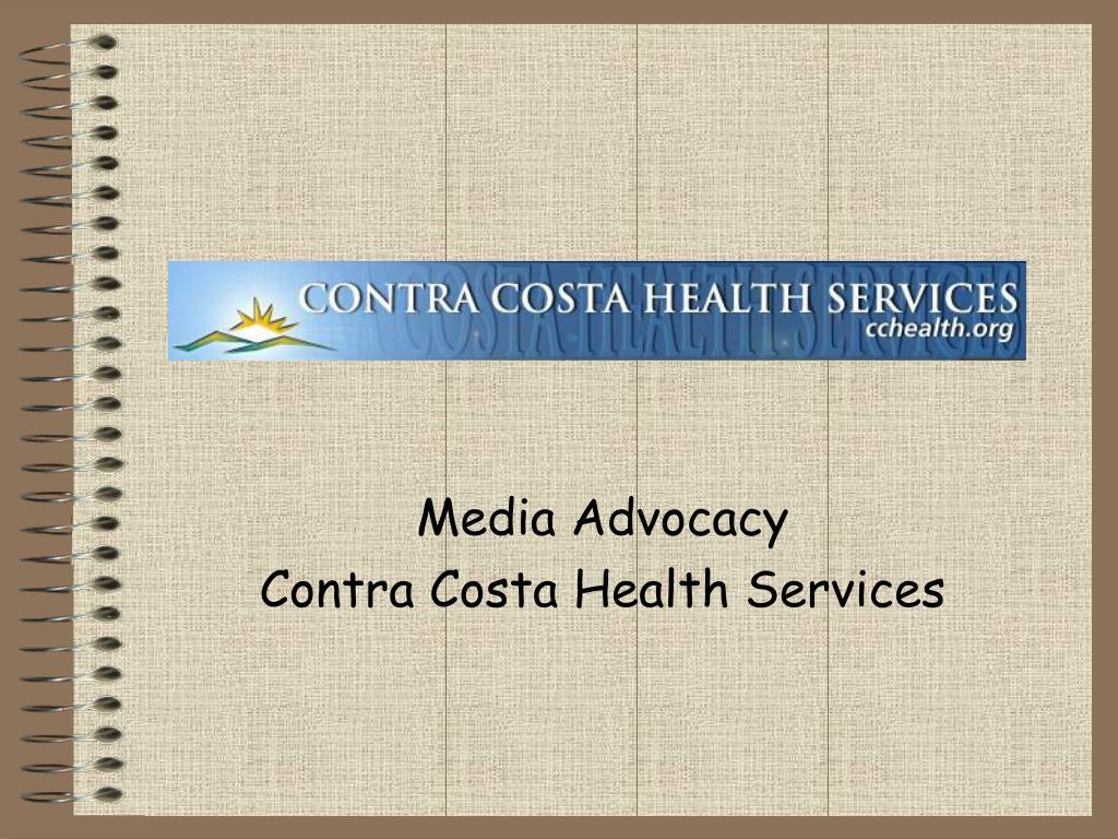 media advocacy contra costa health services l.
