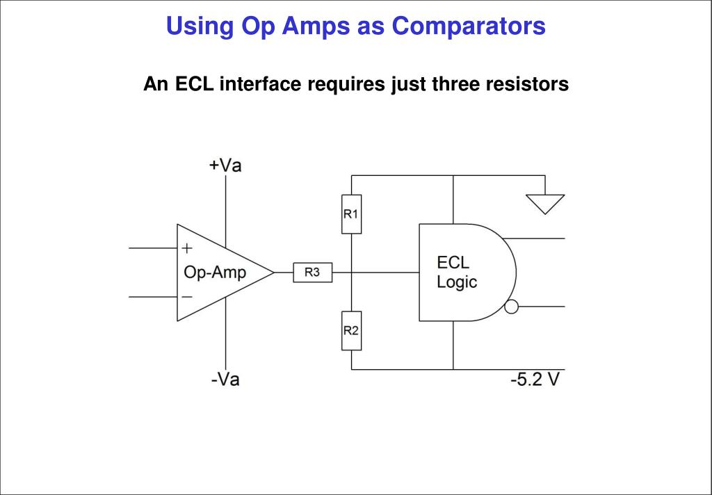 PPT - Using Op Amps as Comparators PowerPoint Presentation ...
