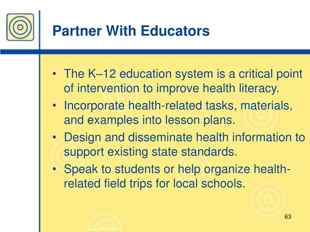 Partner With Educators