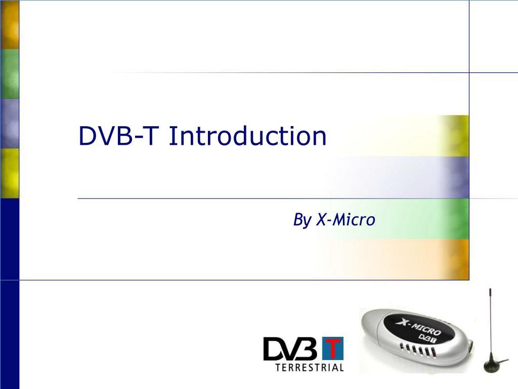dvb t introduction