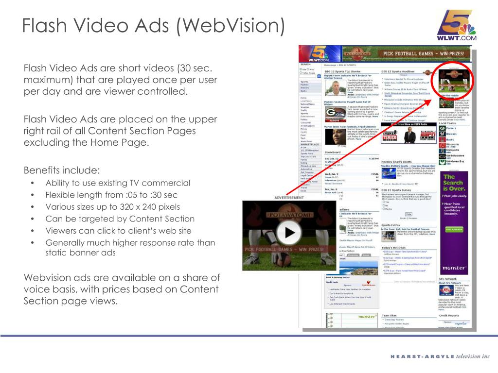 Flash Video Ads (WebVision)